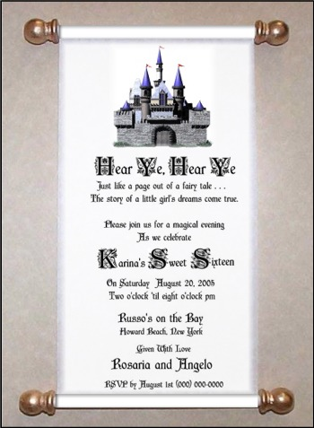 Fairytale Invitation Designs